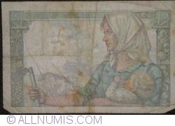 Imaginea #2 a 10 Franci 1941 (9. X.)