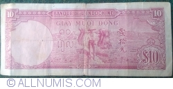 10 Piastres ND (1947)