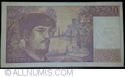 Image #2 of 20 Francs 1987