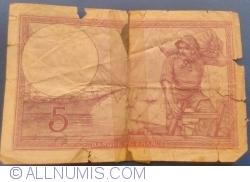 Image #2 of 5 Francs 1918 (3. VIII.)