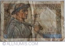 Imaginea #1 a 10 Franci 1947 (4. XII.)
