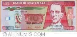 Image #1 of 10 Quetzales 2008 (12. III.)
