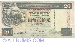 Image #1 of 20 Dollars 1995 (1. I.)