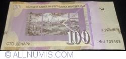 Imaginea #2 a 100 Denari (Денари) 2013 (XII.)