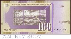 Image #2 of 100 Denari (Денари) 2000 (I.)