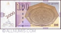 Image #1 of 100 Denari (Денари) 2000 (I.)