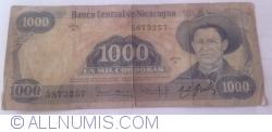 Image #1 of 1000 Cordobas L. 1984 (1985)
