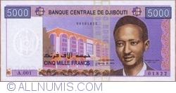 5000 Francs ND (2002)