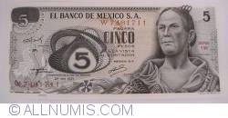 5 Pesos 1971 (27. X.)