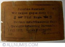 Image #1 of 5 Rupien 1917 (1. VII.)