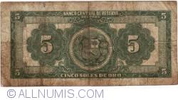 Imaginea #2 a 5 Soles de Oro 1965 (18. VI.)