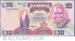 Imaginea #1 a 50 Kwacha ND (1986-1988)