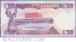 Imaginea #2 a 50 Kwacha ND (1986-1988)