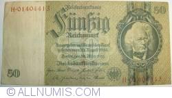 Imaginea #1 a 50 Reichsmark 1933 (30. III.) (1945)