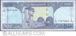 Image #2 of 500 Afghanis 2002 (SH 1381 - ١٣٨١)