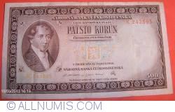 Image #1 of 500 Korun 1946 (12. III.)