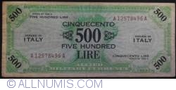 Image #1 of 500 Lire 1943 A