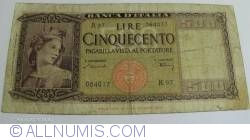 Image #1 of 500 Lire1947 (20. III.)