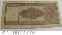 Image #2 of 500 Lire1947 (20. III.)