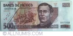 Image #1 of 500 Pesos 2002 (26. III.) - Serie AG