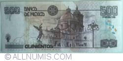 Image #2 of 500 Pesos 2002 (26. III.) - Serie AG