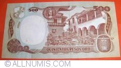 Image #2 of 500 Pesos Oro 1993 (4. I.)