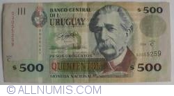 Image #1 of 500 Pesos Uruguayos 2006