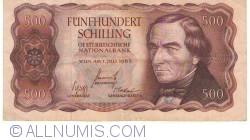 Image #1 of 500 Schilling 1965 (1. VII.) (1966)