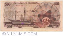 Image #2 of 500 Schilling 1965 (1. VII.) (1966)