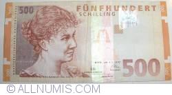 Image #1 of 500 Schilling 1997 (1. I.)