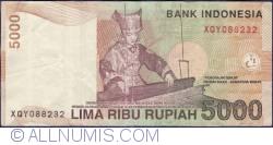 Image #2 of 5000 Rupiah 2001/2003