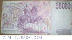 Image #2 of 50000 Lire 1992 - Signatures of Ciampi and Speziali