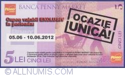 Imaginea #1 a Penny Market - 5 Lei 2012