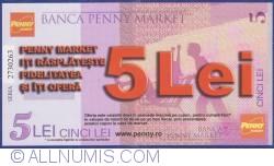 Imaginea #1 a Penny Market - 5 Lei 2013