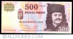 Imaginea #1 a 500 Forint 2013