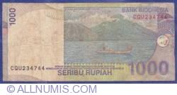 Image #2 of 1000 Rupiah 2000/2003