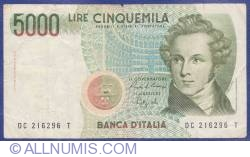 Image #1 of 5 000 Lire 1985
