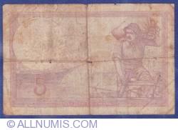 Image #2 of 5 Francs 1933 (27. VII.)