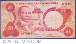 Image #1 of 1 Naira ND (1979-1984)