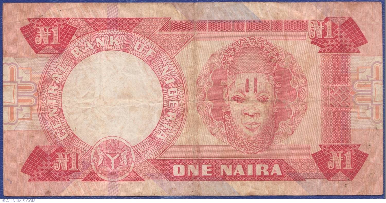 1 Naira Nd 1979 1984