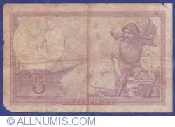 Image #2 of 5 Francs 1919 (17. I.)