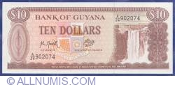 Image #1 of 10 Dollars ND(1966-1992)
