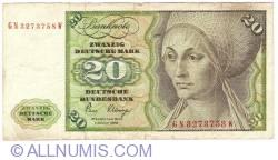 Image #1 of 20 Deutsche Mark 1980 (2. I.)