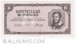 Imaginea #1 a 1 000 000 (Egymillö) B.-Pengö 1946 (3. VI.)