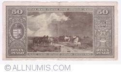 Imaginea #2 a 50 Pengo 1945 (5. IV.)