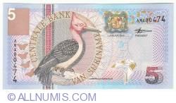Image #1 of 5 Gulden 2000 (1. I.)