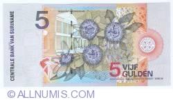 Image #2 of 5 Gulden 2000 (1. I.)