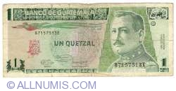 Image #1 of 1 Quetzal 1991 (6. III.)