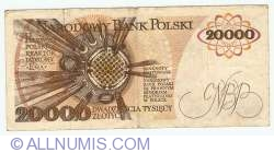 Image #2 of 20000 Zlotych 1989