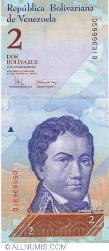 Imaginea #1 a 2 Bolivares 2008 (19. XII.)